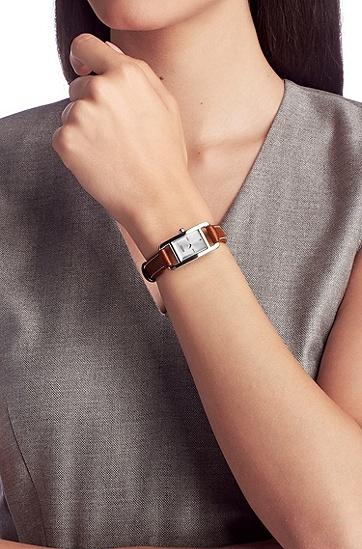 Damen-Armbanduhr ´HB304` mit Edelstahlgehäuse, Assorted-Pre-Pack