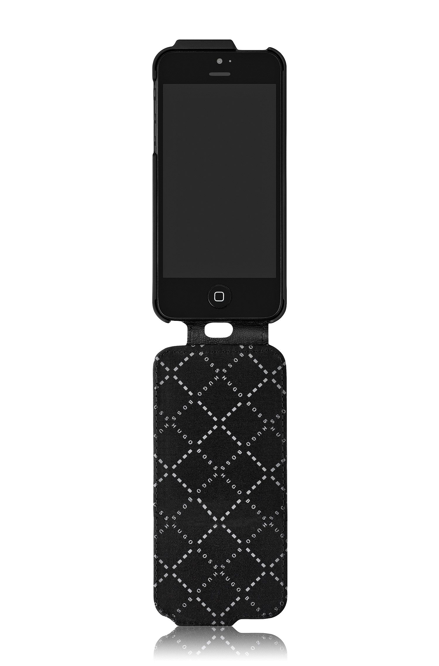 Leren flipcase 'Angle V' voor de iPhone 5/5S