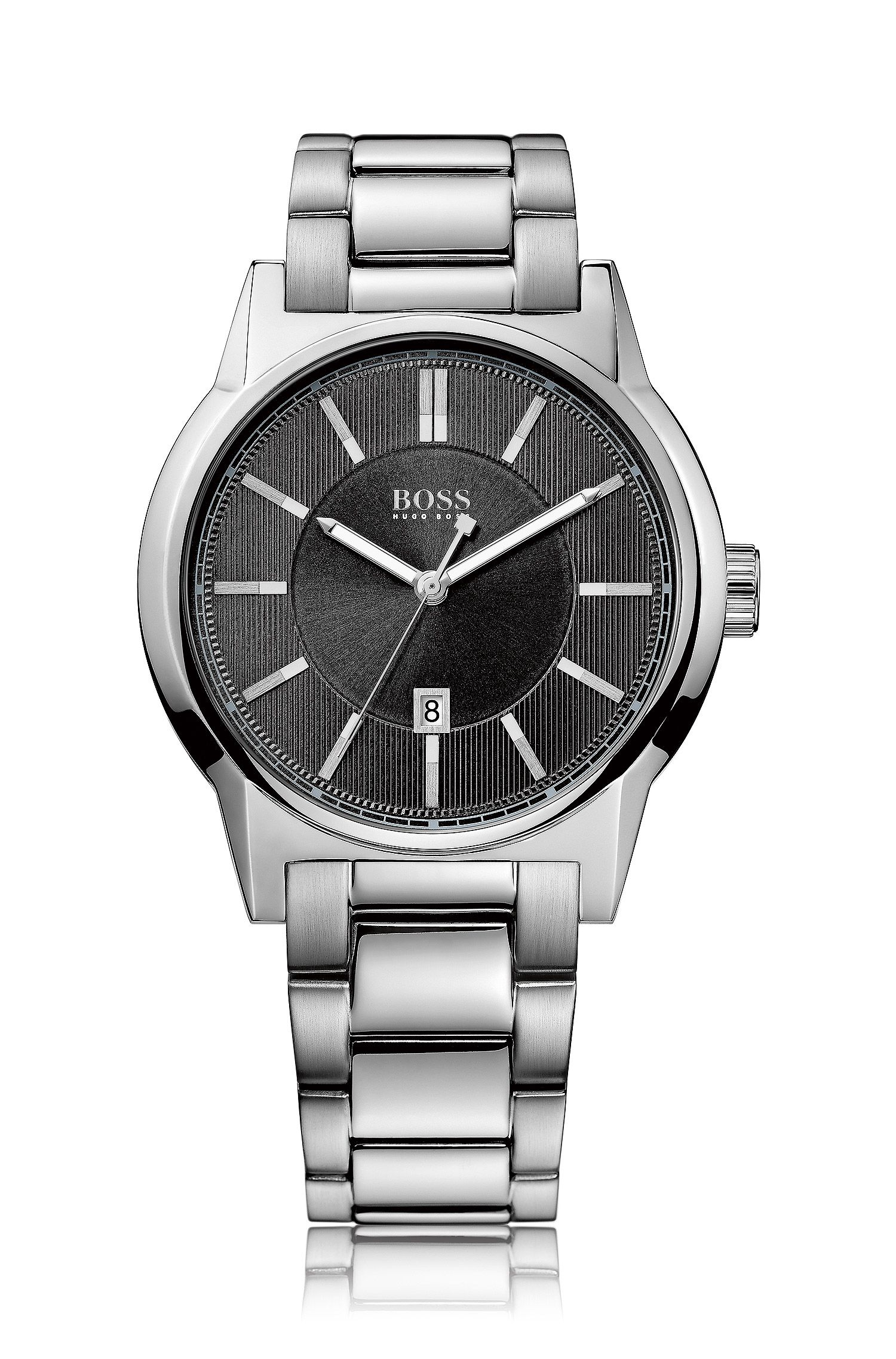 Armbanduhr ´HB6000` mit Edelstahlarmband