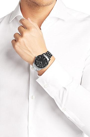 经典系列男士钢链腕表 HB6024,  999_实物颜色