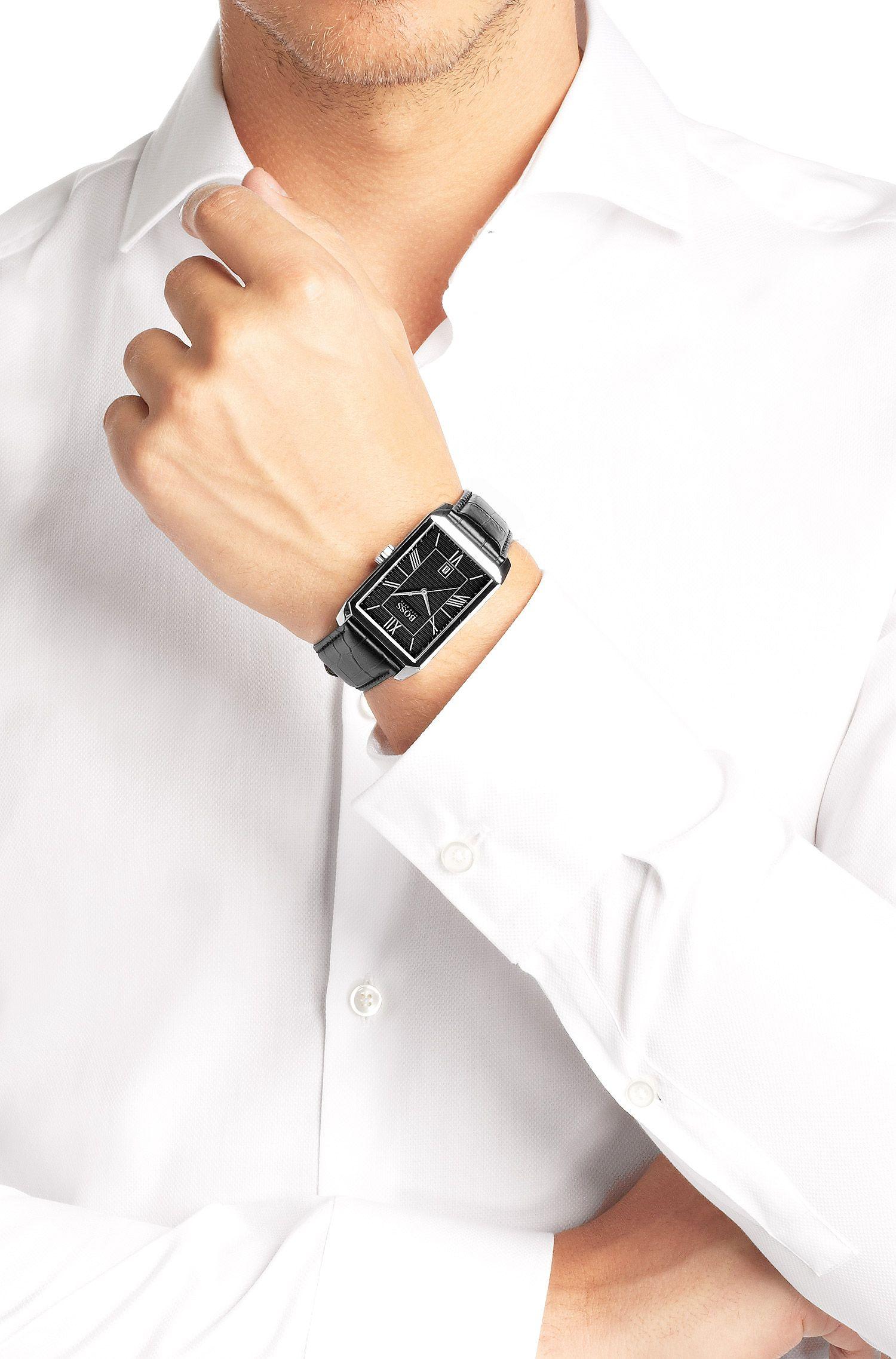 Armbanduhr ´HB6023` mit Edelstahlgehäuse