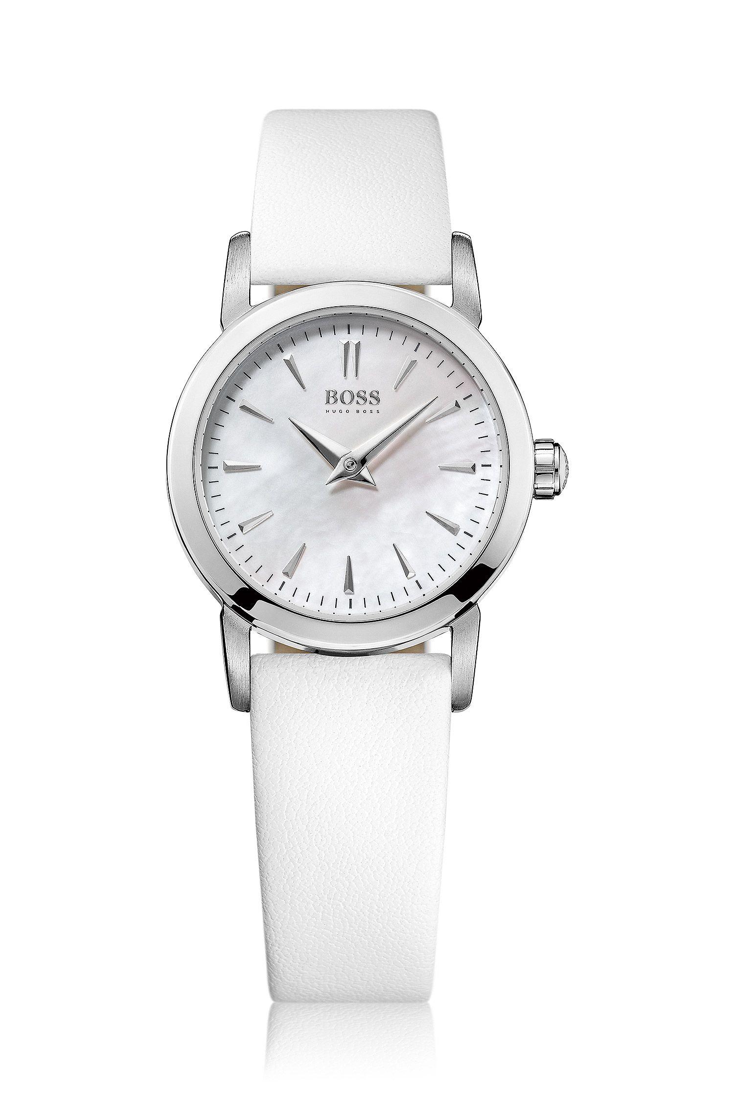 Montre-bracelet «HB6020» avec boîtier en acier inoxydable
