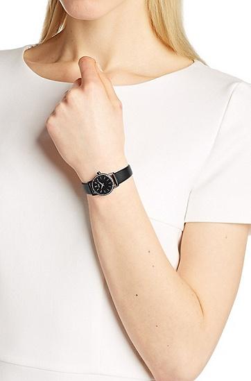 优雅女士水晶镶嵌腕表 HB6020,  999_实物颜色