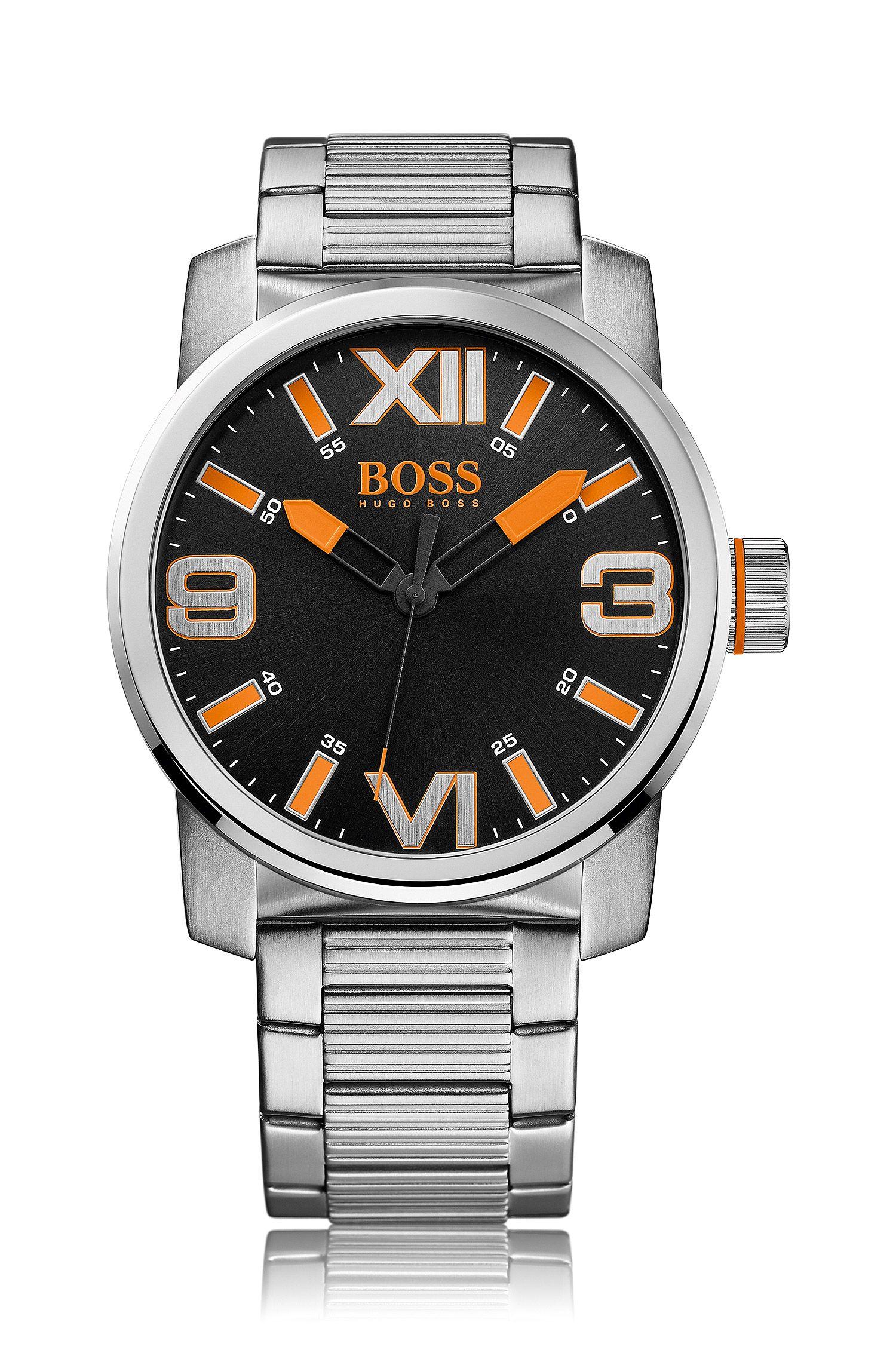 Armbanduhr ´HO7004` aus schwarzem Edelstahl