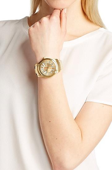 Armbanduhr ´HO7001` aus Edelstahl in Gold-Optik, Assorted-Pre-Pack