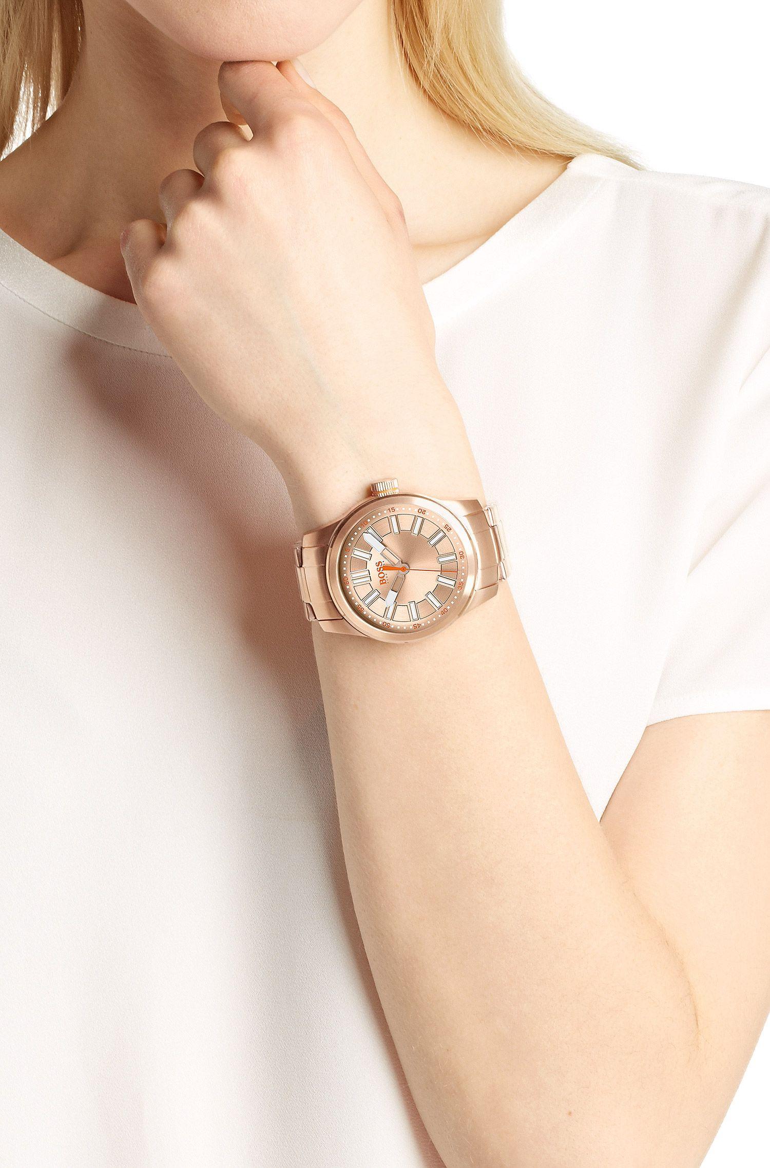 Montre-bracelet «HO7001» avec boîtier en acier inoxydable
