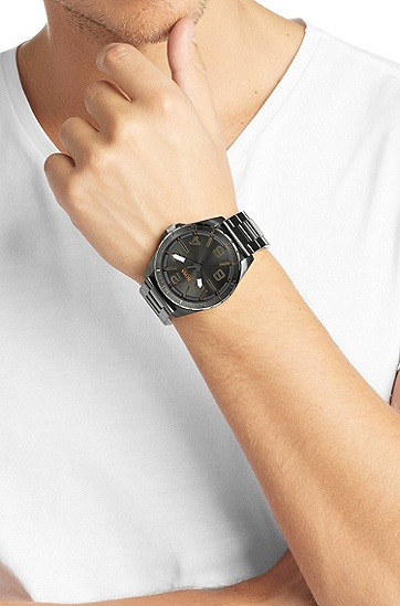 Armbanduhr ´HO7004` aus Edelstahl mit Quarz-Werk, Assorted-Pre-Pack