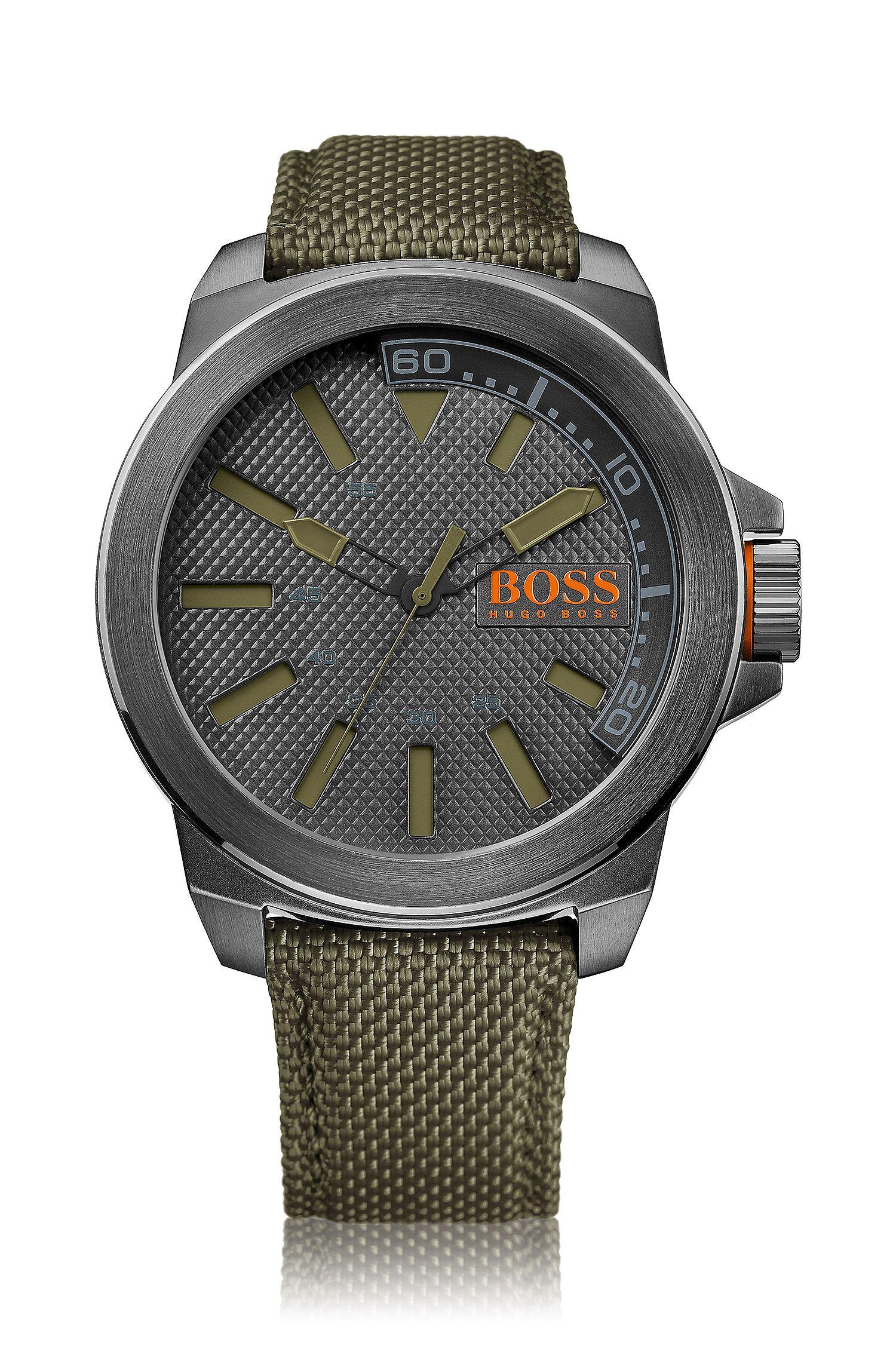 Montre-bracelet «HO7009» avec boîtier en acier inoxydable
