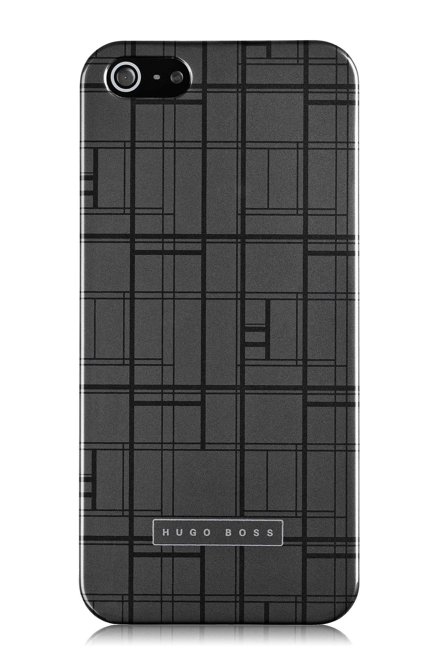 Hardcover 'Catwalk IP5 Grey' voor iPhone 5/5s