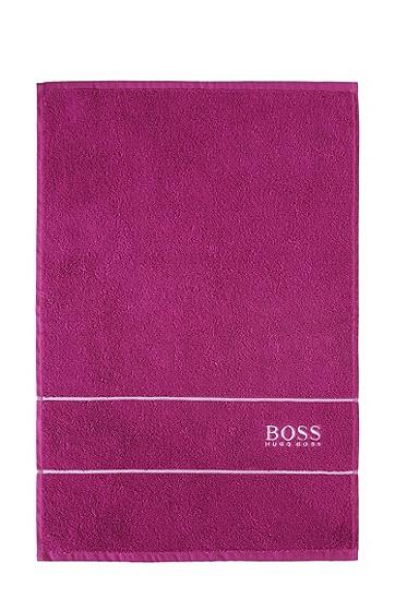 Gästehandtuch ´PLAIN` mit gewebten Abschlussblenden, Pink