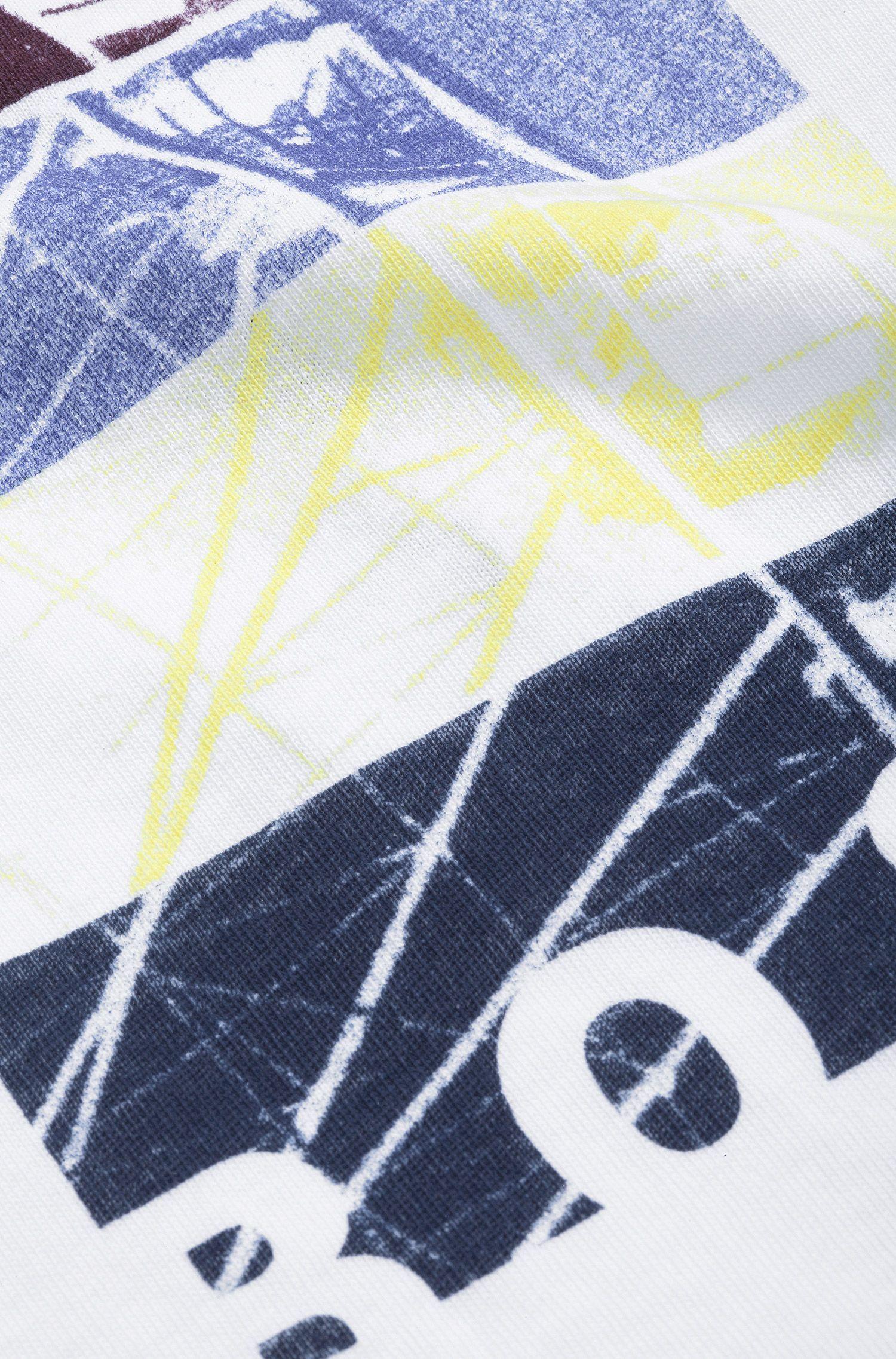 T-shirt pour enfant «J05279/10B» en coton imprimé