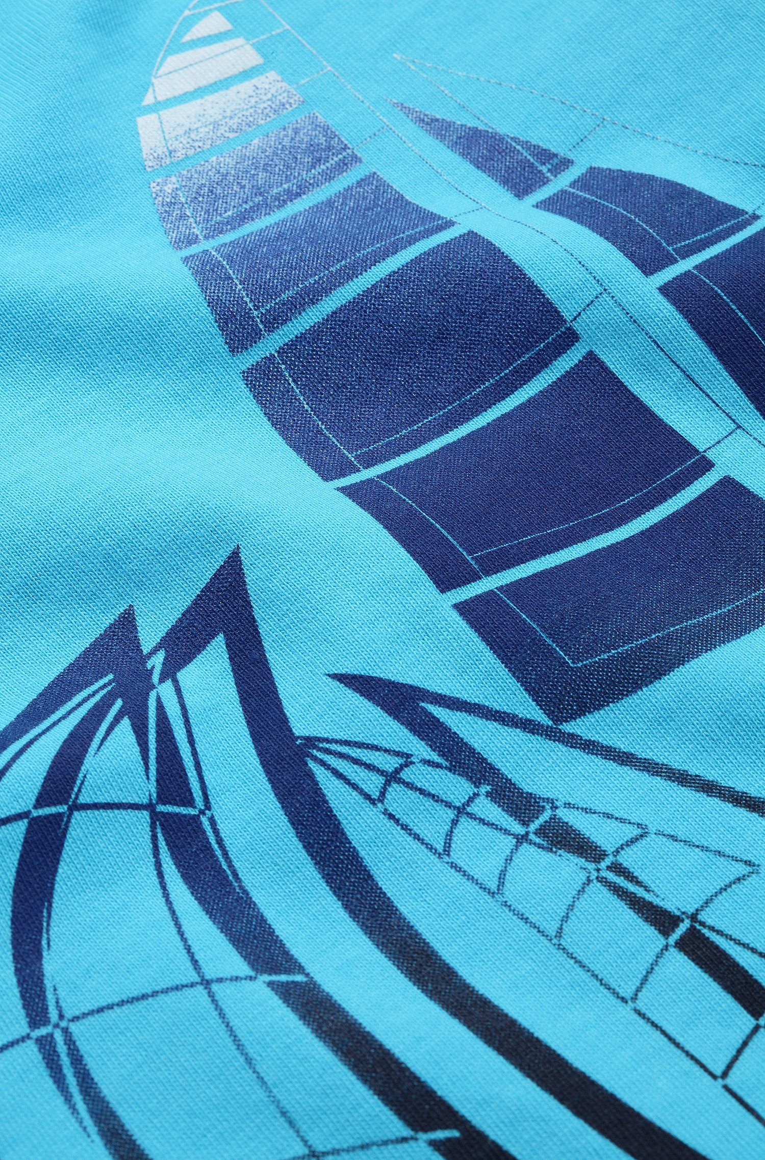 Kinder-T-shirt 'J05281/753' van katoen