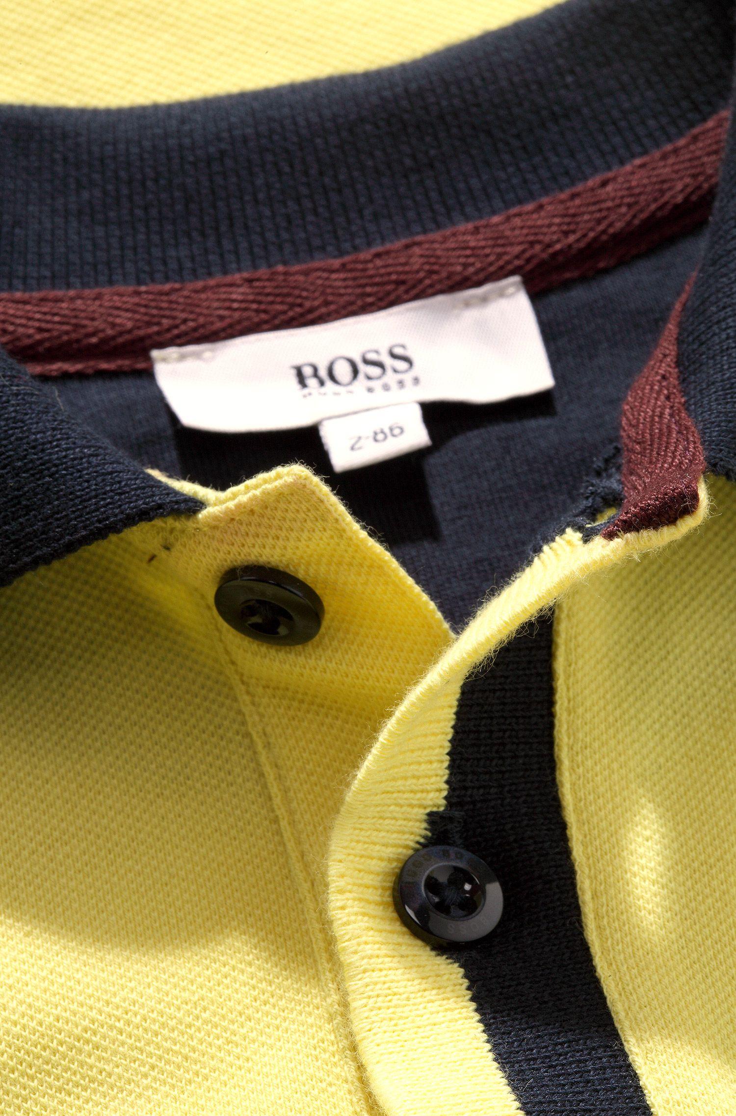 'J05285'   Toddler Cotton Piqué Polo Shirt