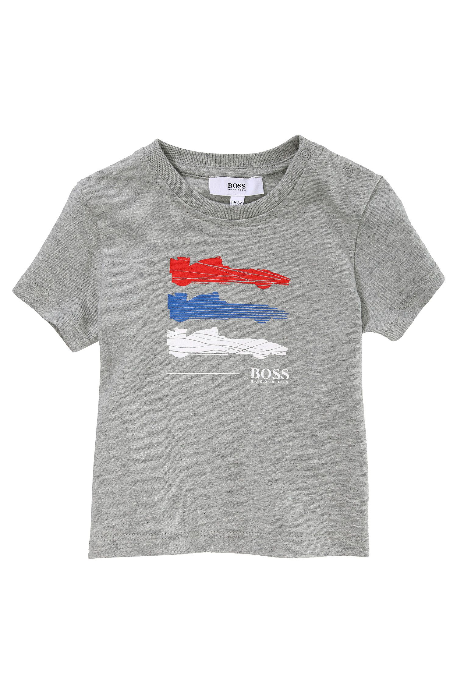 Kinder-T-shirt 'J05303/A30' van katoen