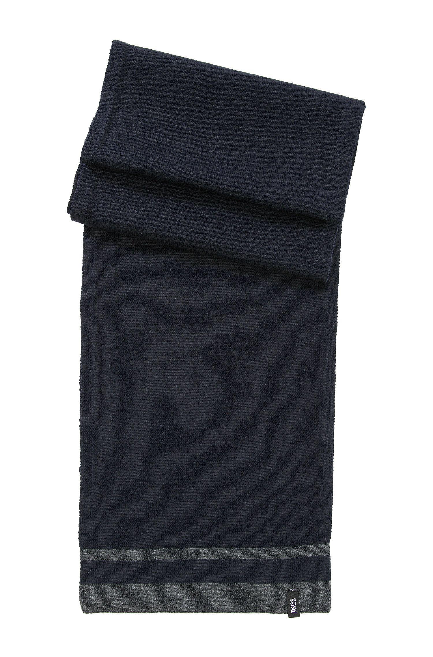 Écharpe en maille pour enfant «J21109/862» en coton mélangé