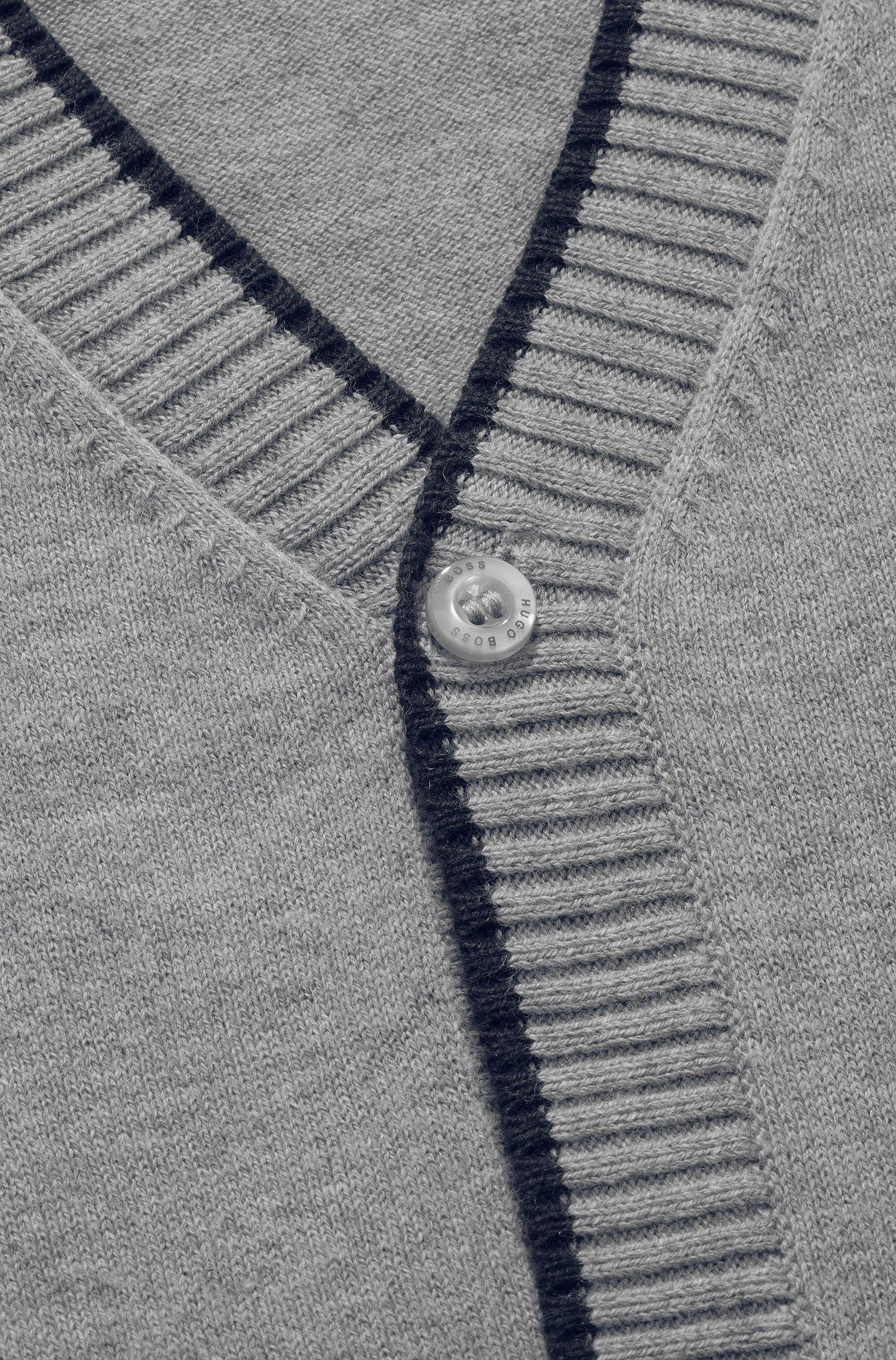 Cardigan pour enfant «J25551/A30» en coton mélangé
