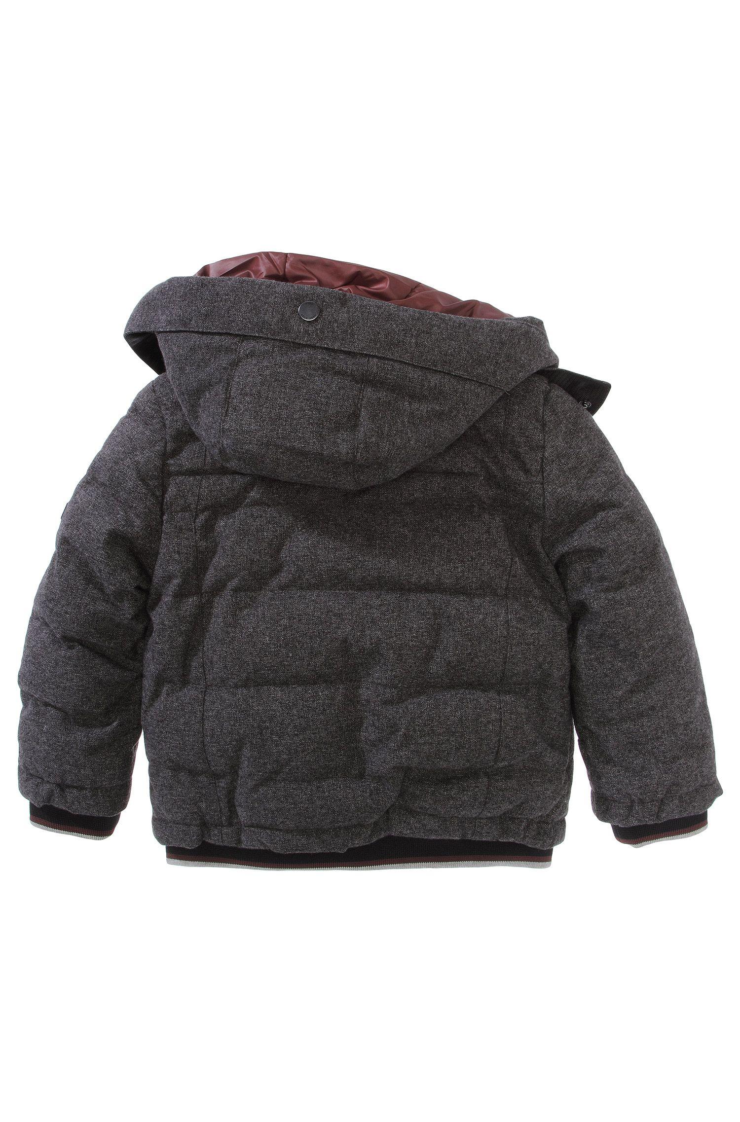 Blouson outdoor à capuche pour enfant «J26171/A80»