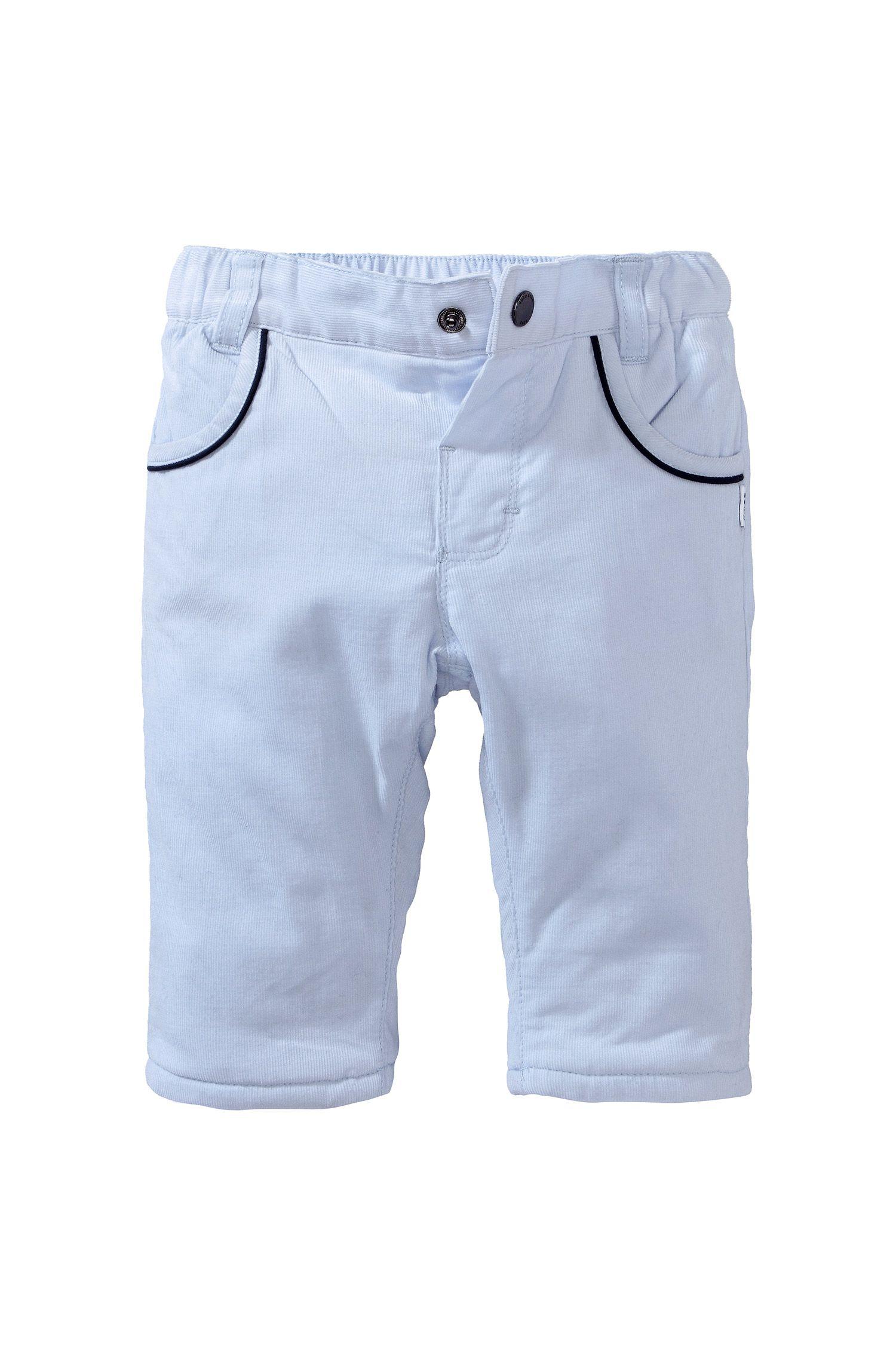 Pantalon en velours côtelé pour enfant «J94075/775» en coton