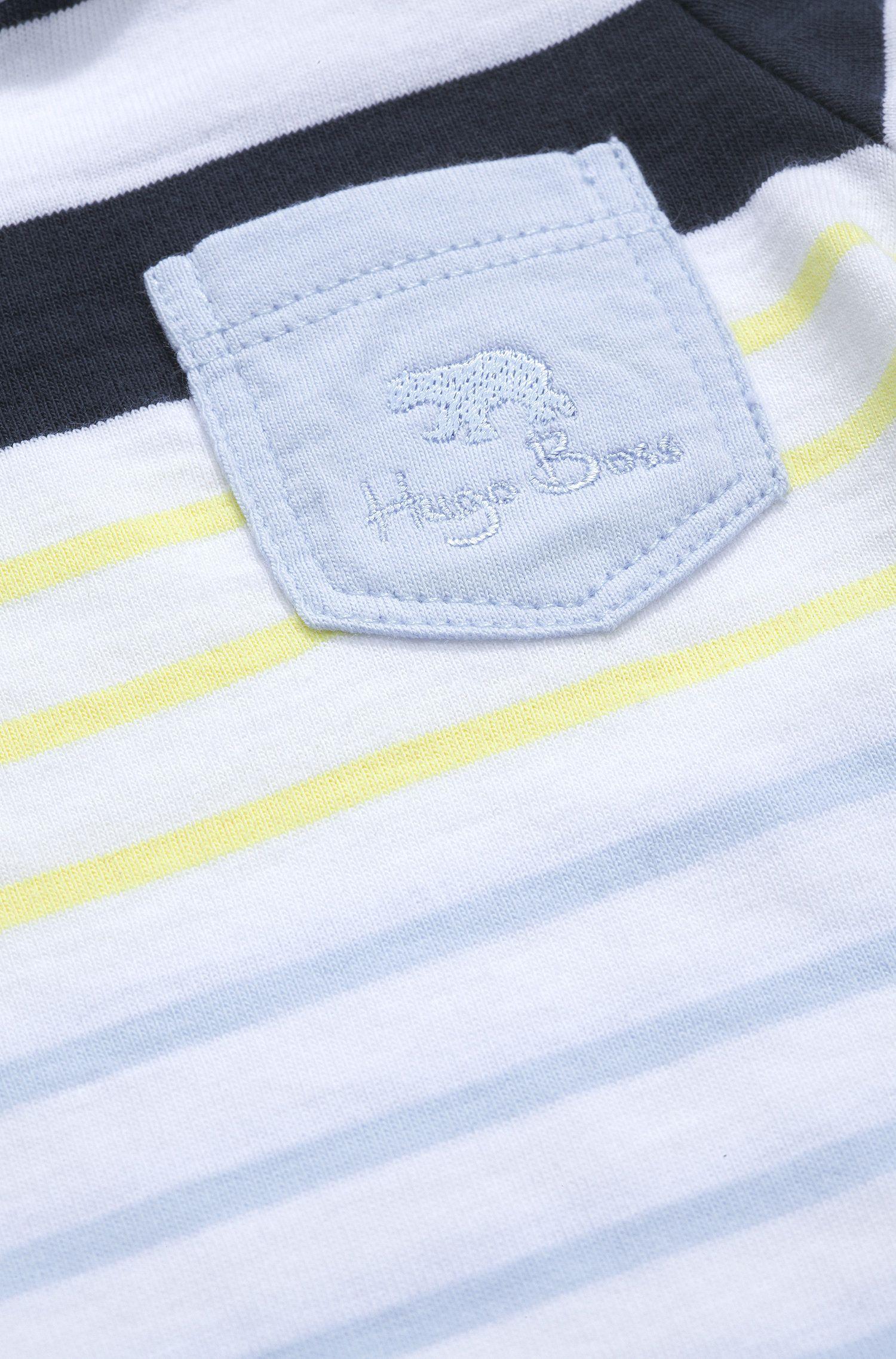 'J95128' | Infant Stripe Cotton Jersey T-Shirt