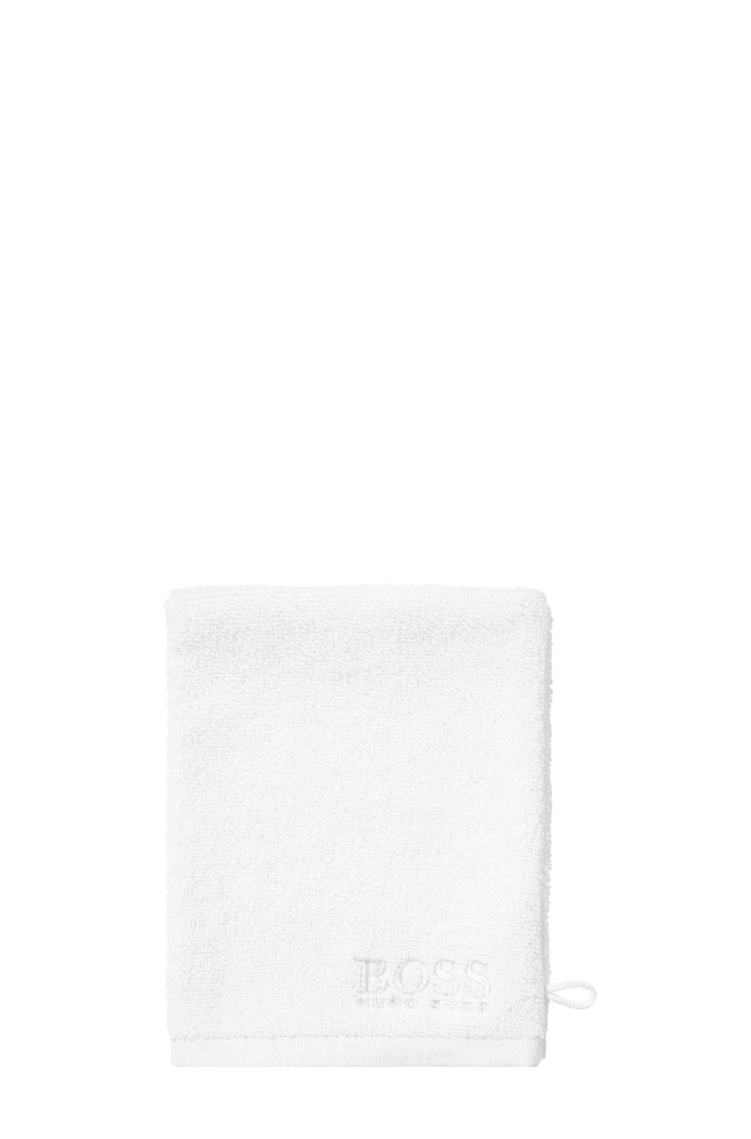 Wash glove 'PLAIN' in cotton