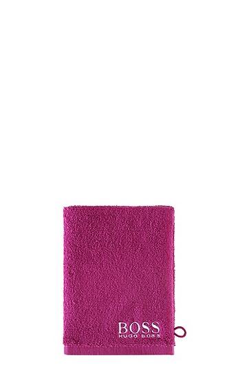 Waschhandschuh ´PLAIN` aus Baumwolle, Pink