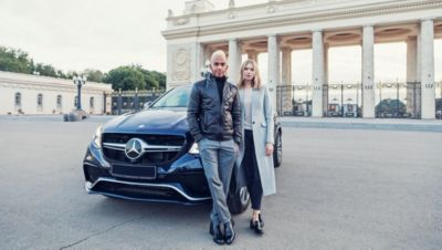 EXPLORING MOSCOW WITH LEWIS HAMILTON - eMAG HUGO BOSS