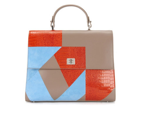 patchwork BOSS bespoke bag