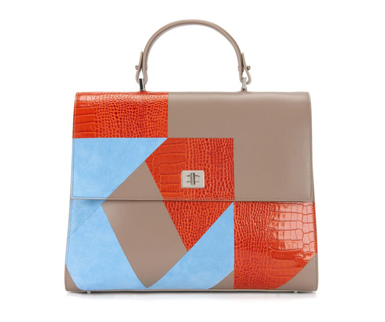 BOSS Bespoke Bag im Patchwork-Design