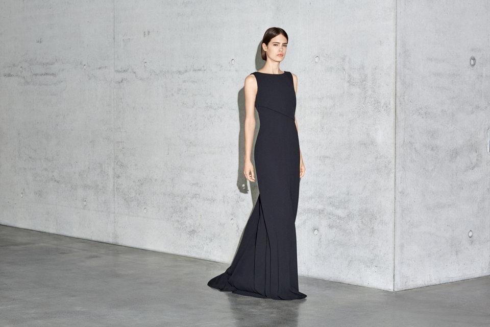 Schwarzes Abendkleid von BOSS