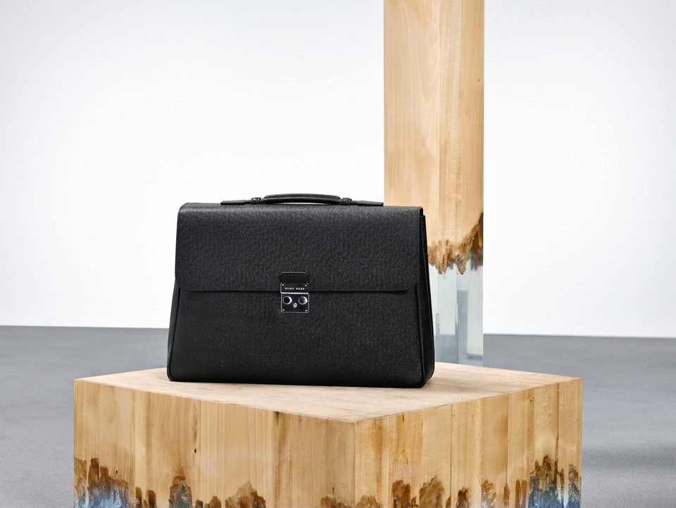 Black bag for men by BOSS