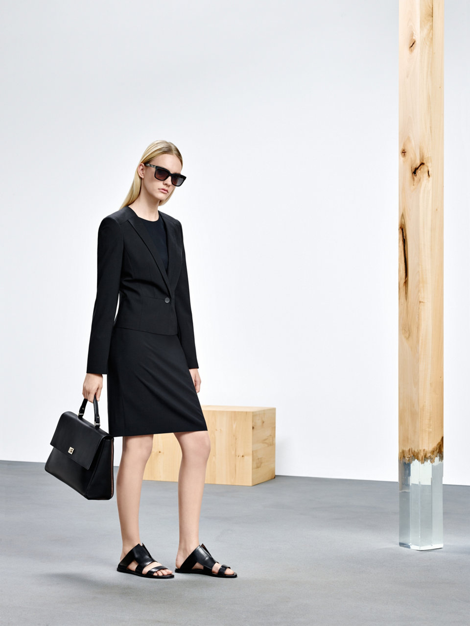 BOSS women black blazer