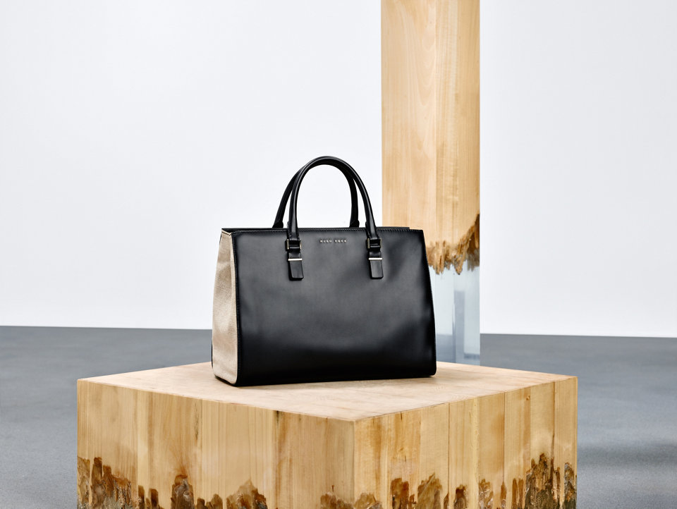 Black bag for women by BOSS