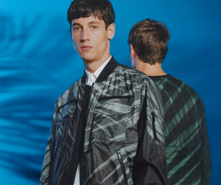 Patterned outerwear by HUGO