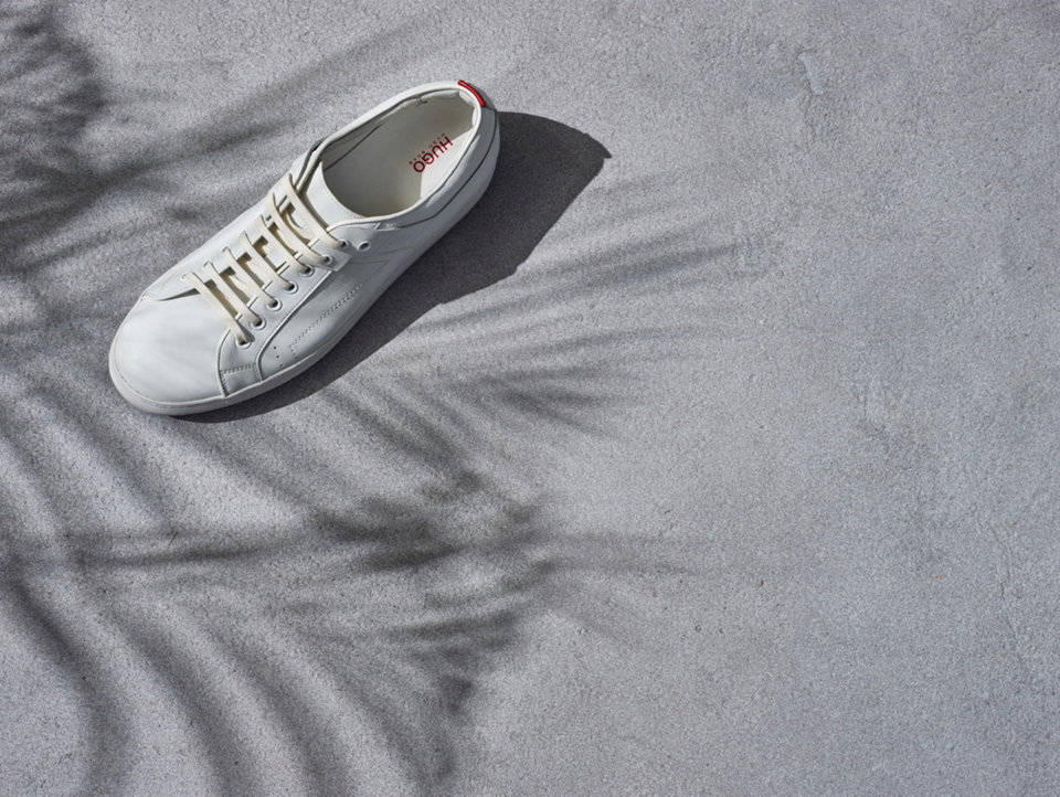 White trainers by HUGO