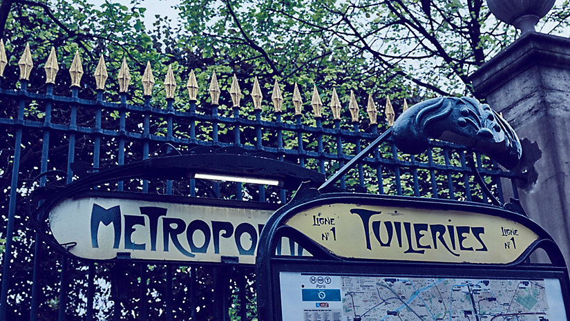 Parkanlage Jardin des Tuileries