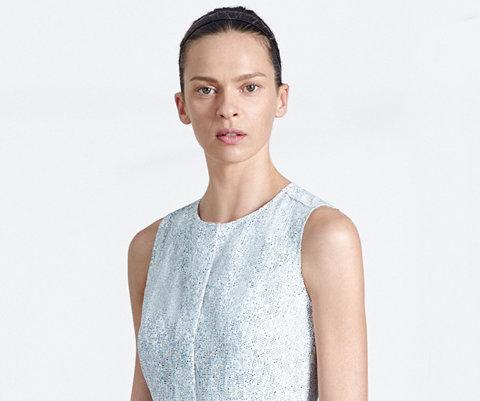 Gemustertes Kleid von BOSS