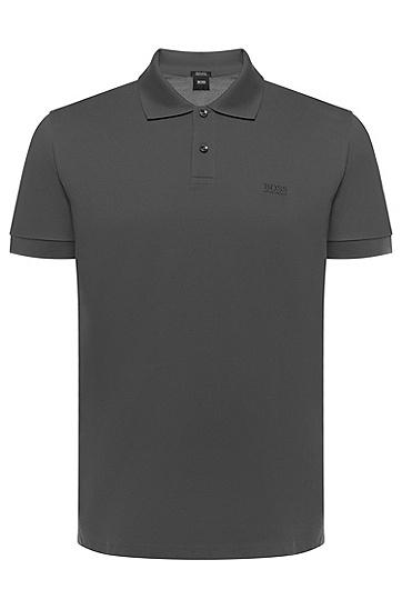 男款经典Polo衫,  024_暗灰色