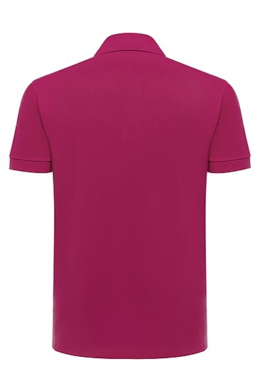 男款经典Polo衫,  673_亮粉色
