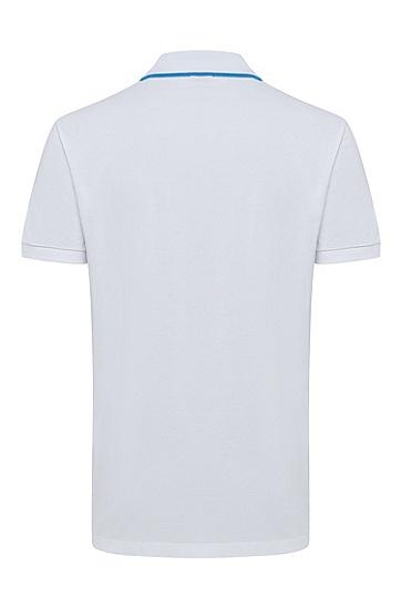 男款商务休闲短袖Polo衫,  100_白色