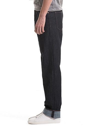 常规版弹力牛仔布牛仔裤,  410_海军蓝色