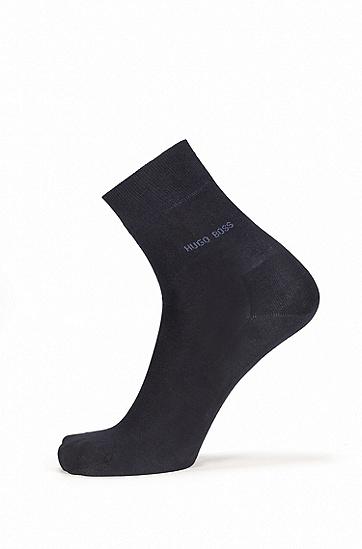棉轻质短袜,  401_暗蓝色