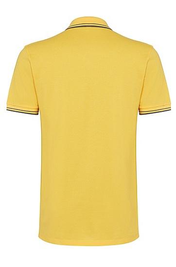 男士时尚休闲polo衫,  733_亮黄色