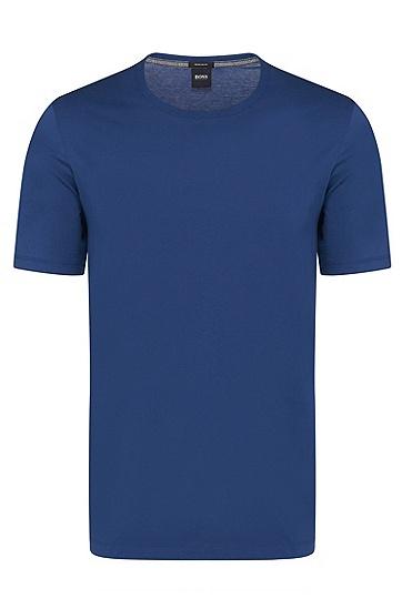 男士常规版柔软棉质T恤,  419_海军蓝色