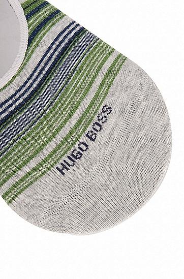 棉质混纺隐形短袜,  040_银灰色