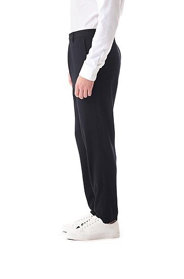男士商务休闲西装裤长裤,  001_黑色