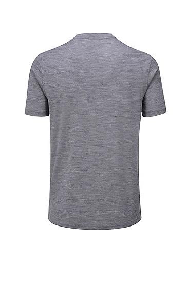 意大利羊毛Travel系列T恤,  030_中灰色