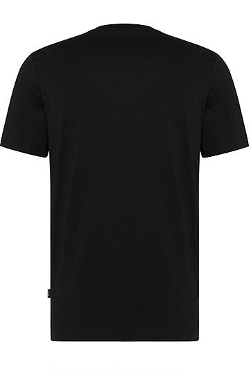 男士时尚休闲修身T恤,  001_黑色