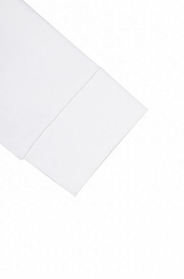 饰以迷彩印花反转logo的棉质运动衫,  100_白色