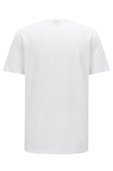 男士舒适休闲T恤,  100_白色