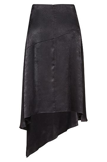 女士休闲时尚半身裙,  001_黑色